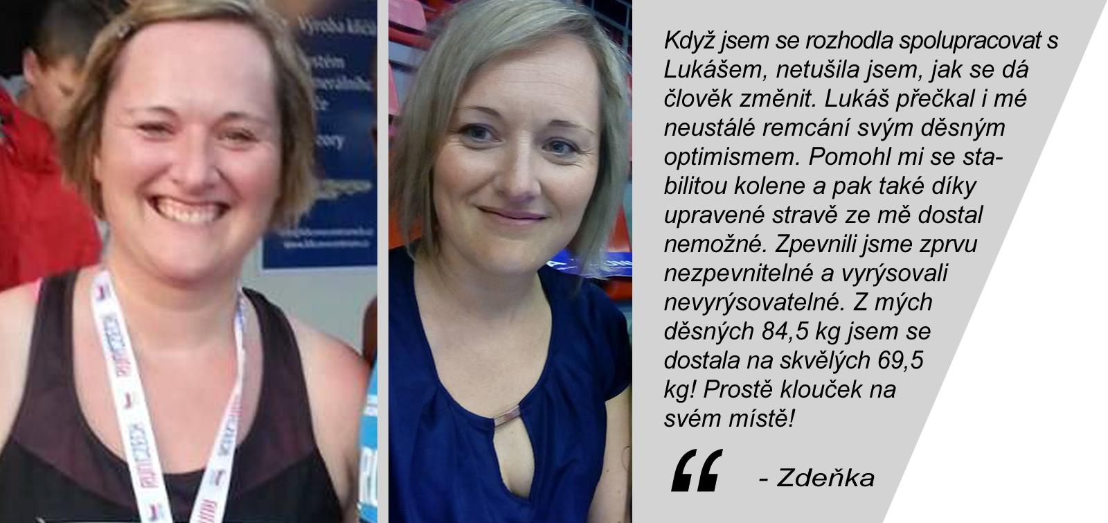Dosažené výsledky - Zdeňka